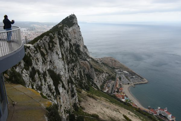 The rock of Gibraltar World Travellers Riccarton